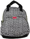 Betsey Johnson Women's Dots Backpack, Black/White Polka Dot