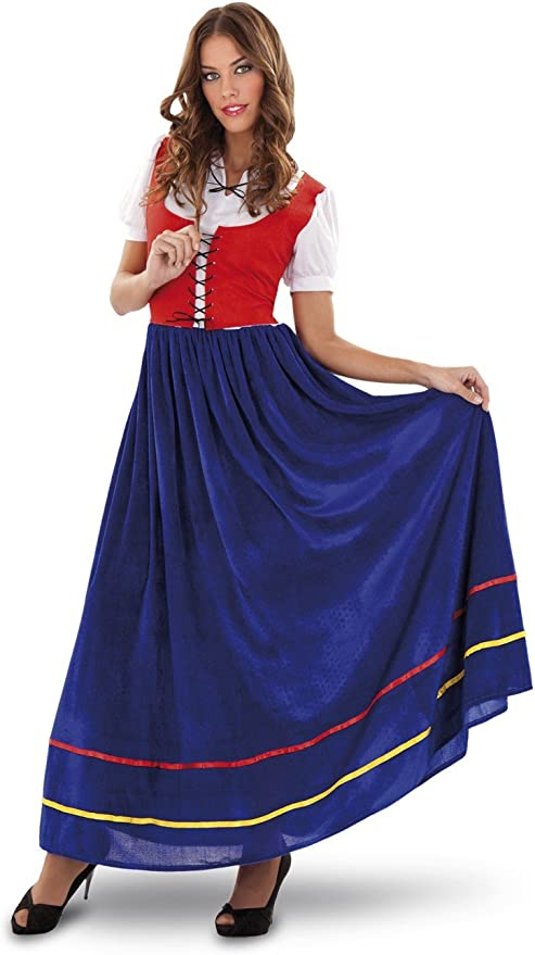 Disfraz de Veneciana para mujer talla M-L: Amazon.es: Juguetes y ...