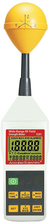 Anaheim Scientific E201 Wide Range RF Field Strength Meter