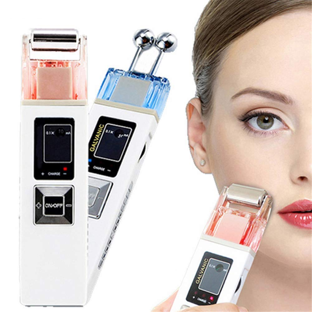 Face Clean Machine Skin Care Therapy Portable Galvanic Microcurrent Skin Firming Machine Anti-Aging Massager Skin Tightening Device by AMCARES