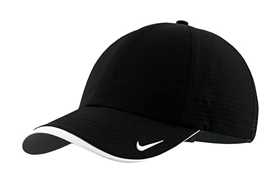 low profile baseball cap womens authentic fit swoosh embroidered perforated black fitted caps high blank