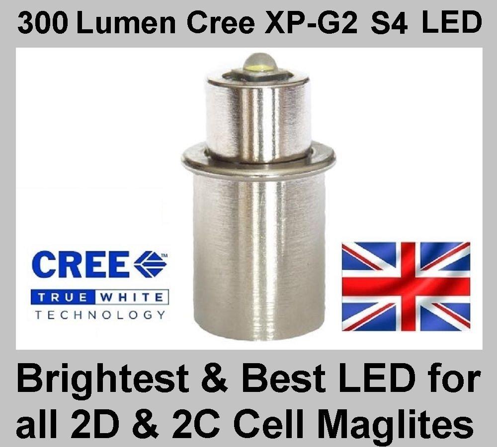 TheTorchSite TTS-3WCR45 Maglite - Bombilla led para linternas (180 lúmenes, pilas 2/3 C o D): Amazon.es: Iluminación