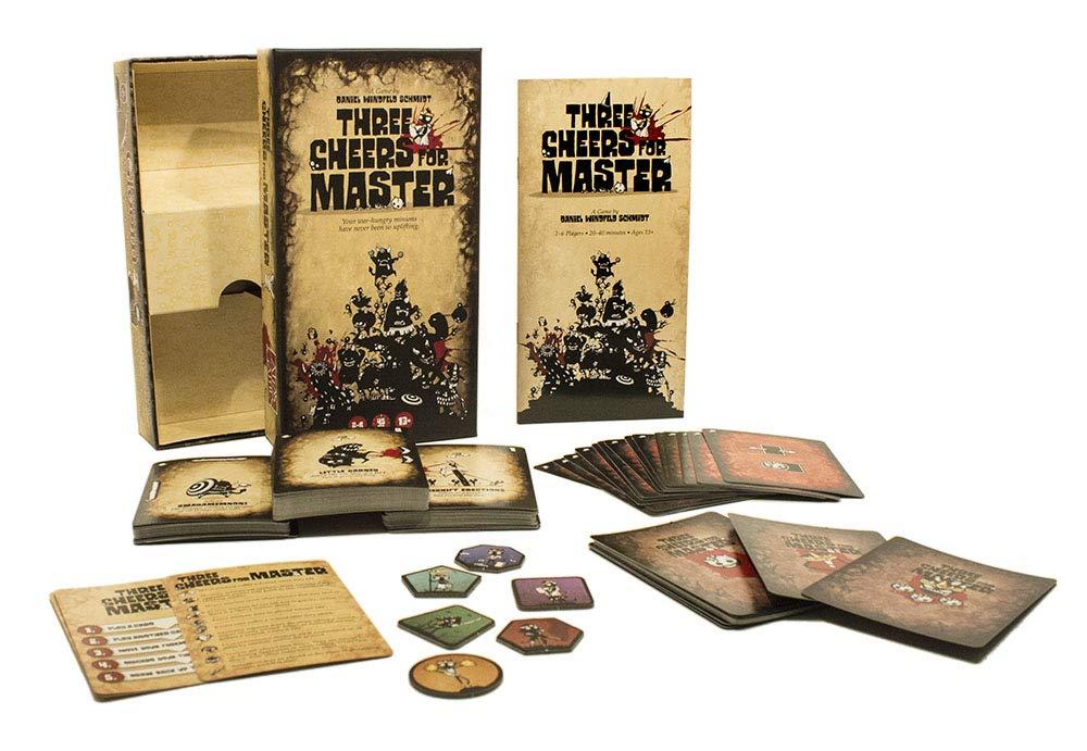 Atlas Games atg01360 Tres Cheers para Master Juego de Cartas: Amazon.es: Juguetes y juegos