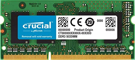 4GB DDR3-1600 MHz PC3-12800 SODIMM 4G Laptop Memory 204-PIN MemoryMasters Compatible New