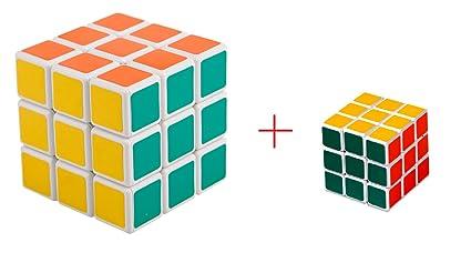 Shop & Shoppee 2 in 1 Magic Square Cube Puzzle 3x3x3 (Big, Small)