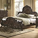 Abigail Queen Bed With Lion Claws By Coaster Furniture