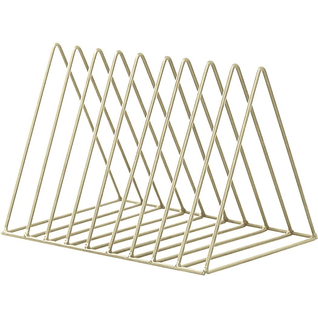 Gfone - Estantería de Metal para Libros, 9 estantes, geométrica ...