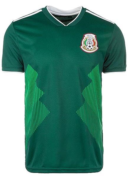 new product 10e07 3cc21 Uni-fashion Mexico National Team 2018 World Cup Soccer Jersey Replica