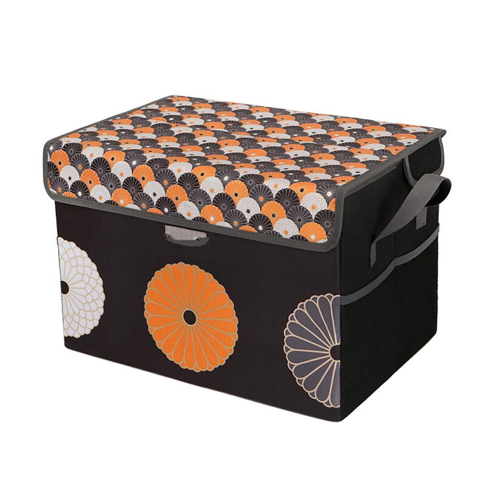 BLAKQ car Trunk Organizer Storage- Sundries Storage Box Car Supplies Storage Box Car Trunk Compartment Car Storage Box 42L