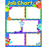 "TREND enterprises, Inc. Job Chart Owl-Stars! Learning Chart, 17"" x 22"""