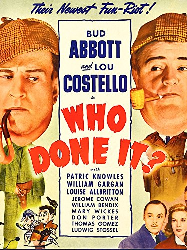 Who Done It?, used for sale  Delivered anywhere in USA