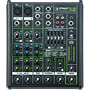 Mackie Mixer – Unpowered, 4 Channel (PROFX4V2)