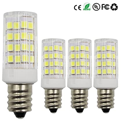 Dayker 4W E12 Base LED Light Bulb Daylight Equivalent To 35W Incandescent  Bulbs For For Closet