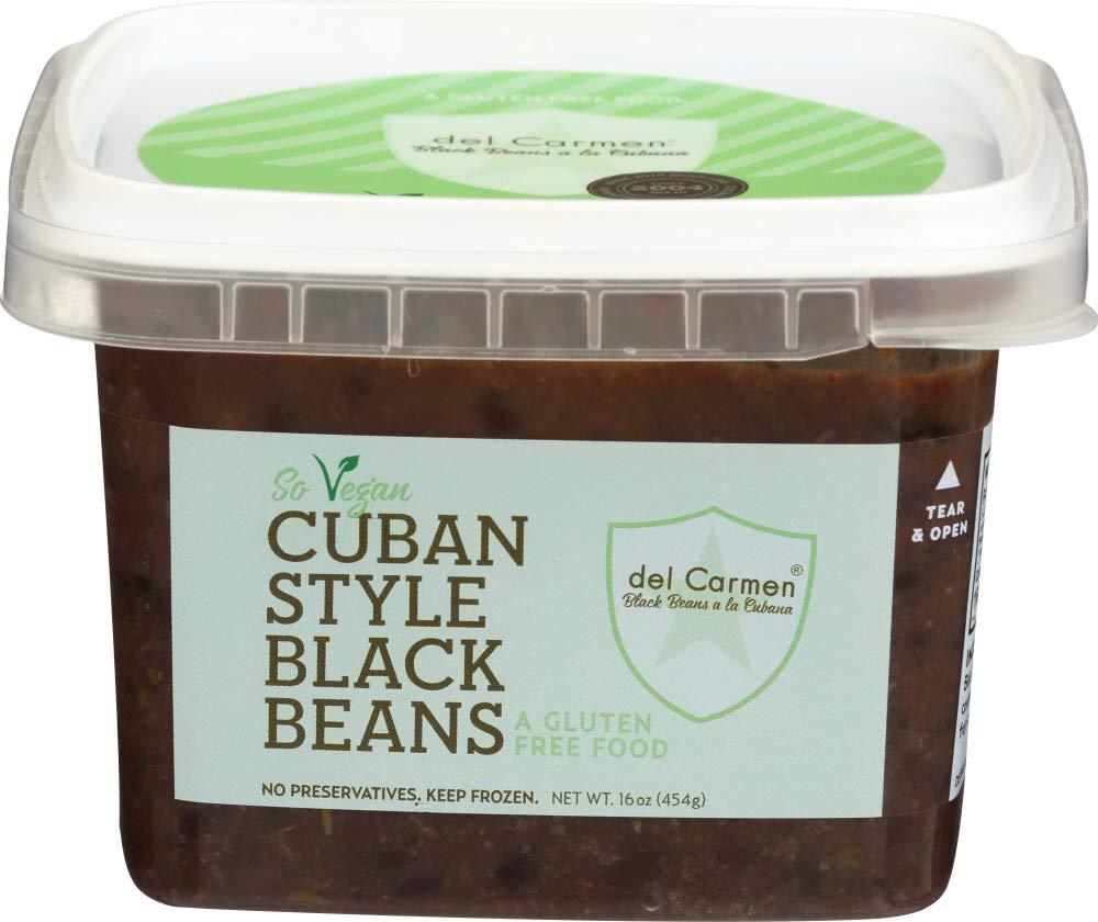 del Carmen Gluten Free Cuban Style Black Beans, 16 oz. (Pack of 12)
