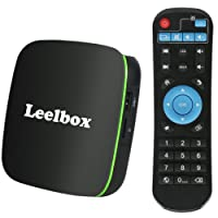 Android TV BOX 2018 Version Leelbox Q1 Smart Android box with BT 4.0 4K 3D Full HD, H.265, WiFi, Media Player Set-top Box Control by Remote or by Mouse