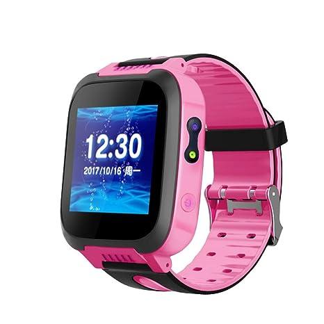 Smart Watch Reloj Inteligente para Niños con Pantalla Táctil, Reloj Deportivo con GPS Resistente al