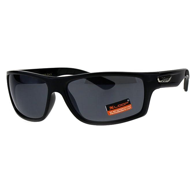 Amazon.com: Classic XLoop para hombre lentes de espejo 90s ...