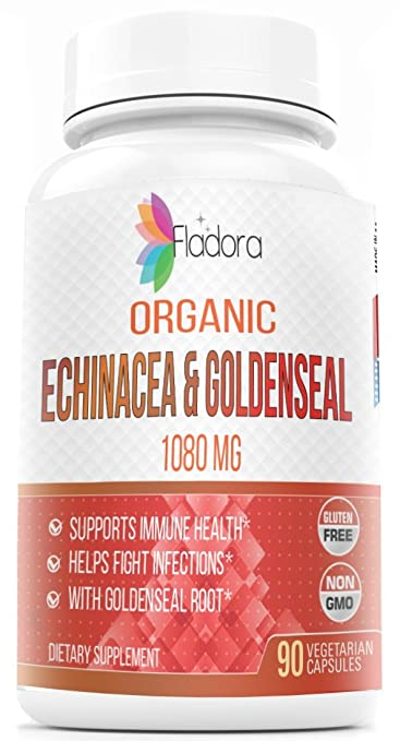 Organic Vegetarian Echinacea with Organic Goldenseal