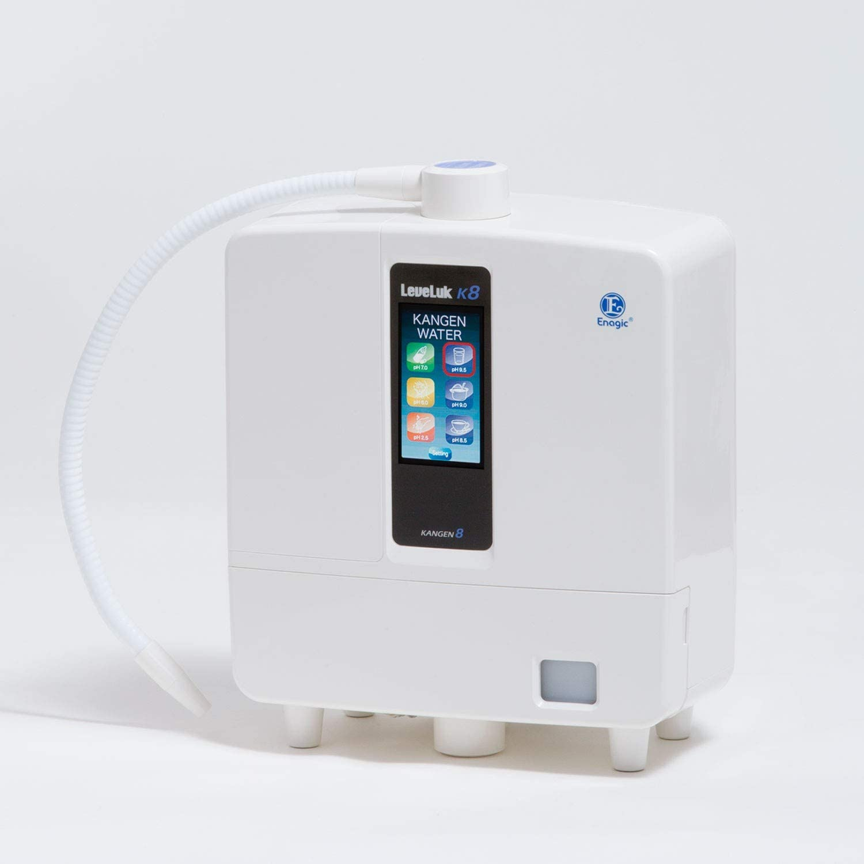 Kangen Water Ionizer from Enagic Leveluk K8 - the most powerful antioxidant machine - featuring 8 platinum-dipped titanium plates