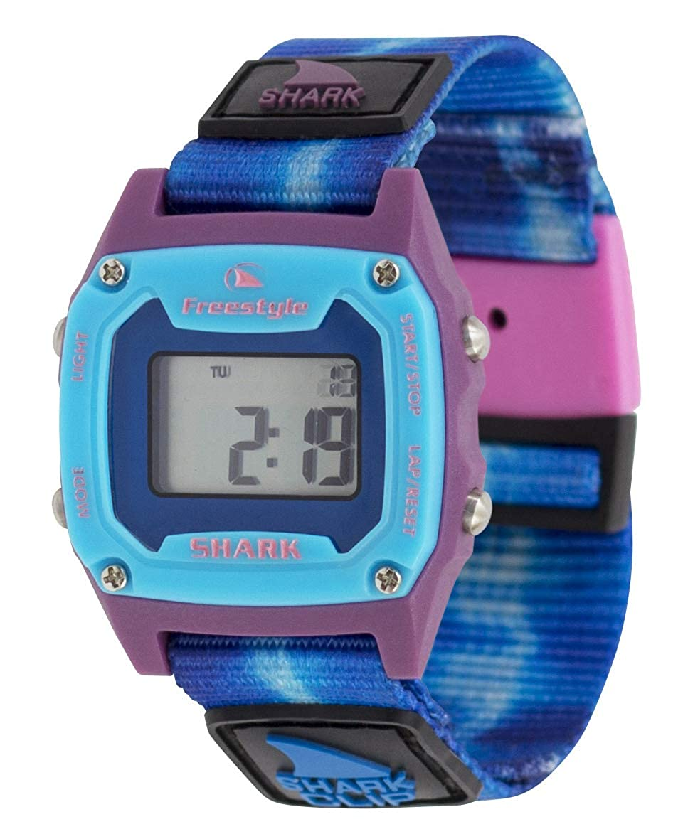 Freestyle Shark Mini Clip Tie-Dye Blue Sea Unisex Watch FS101020