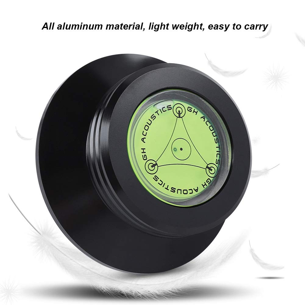 Platten-Plattenspieler aus Aluminium AudioTurntable Balanced Record Weight Turntable Denash Plattengewicht-Klemme f/ür LP-Vinyl-Plattenspieler
