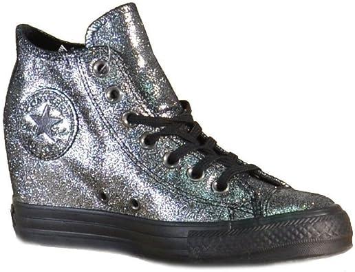 converse all star mid lux glitter