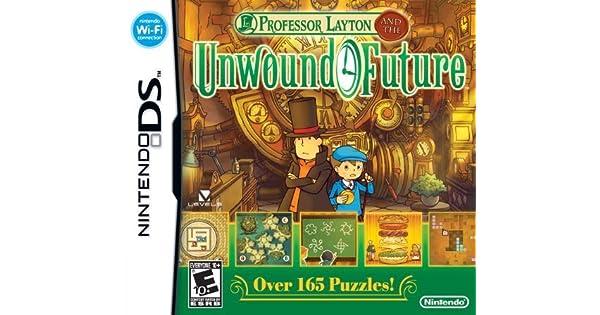 Professor Layton 3 and the Lost (Unwound) Future Game [Nintendo DS]: Amazon.es: Videojuegos