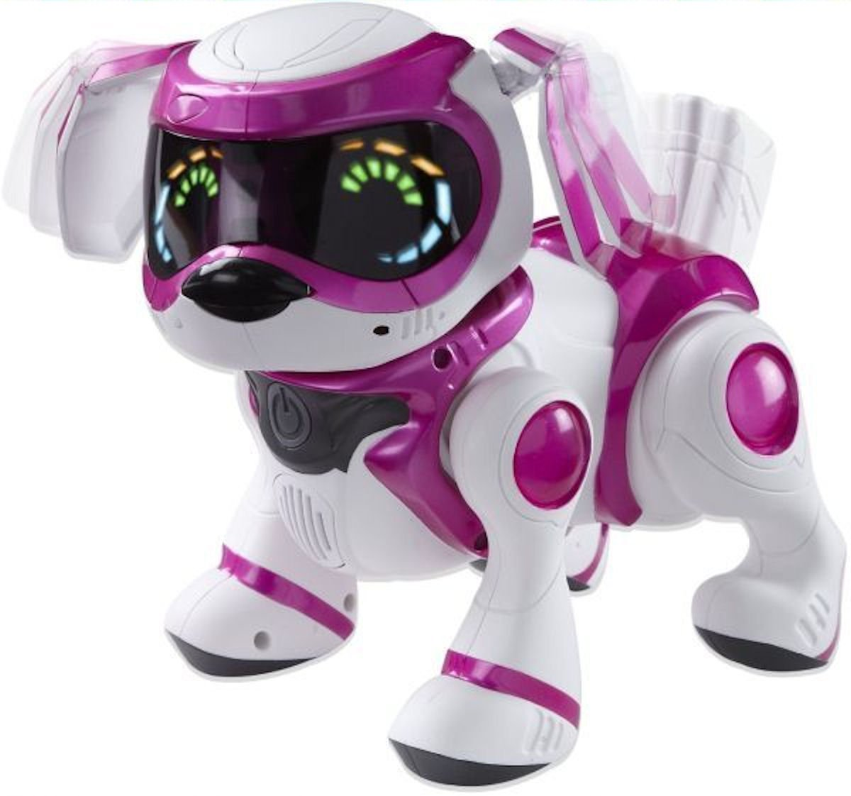 Tekno 4G Interactive Robotic Puppy (Pink/Red/White) [Toy] 62868
