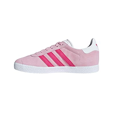 info for d0eba 57616 adidas Gazelle Trainers Pink Amazon.co.uk Shoes  Bags