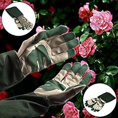 Wells Lamont Jomac Women's Rose Tender Gardening Yard Gloves Forearm Protection Medium Size: Medium, Model: , Home/Garden & Outdoor Store