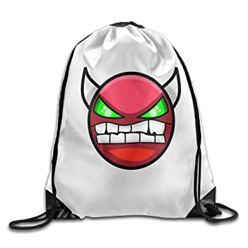 Amazon.com: SAXON13 Unisex Lovely Geometry Angry Dash Drawstring ...