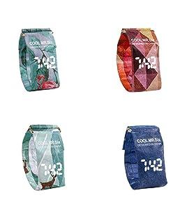 Yunt Orologio di carta creativa, orologio da polso impermeabile in carta digitale da polso