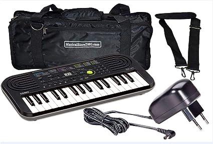 Alimentatore Bundle Minibag CASIO Set SA46 Tastiera 32 Tasti Mini