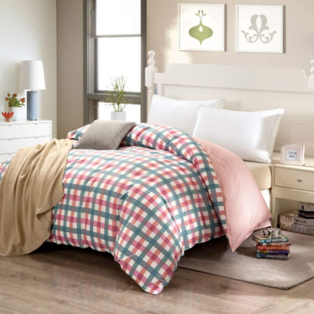 Yunyilian ベッドの裏地の綿のキルトカバーシングルピースカバー、シングルダブルベッドの項目 (Color : 200x200cm(79x79inch), サイズ : A) B07QLJXB1M