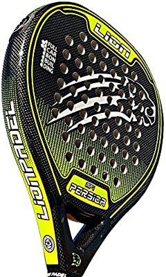 Pala Padel Lion PERSICA Power MP1 Yellow: Amazon.es ...