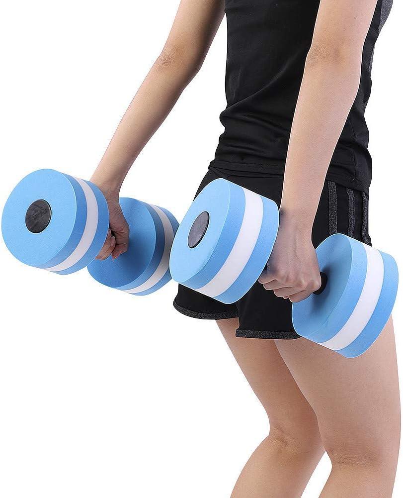 1X Foam Water Aerobics Dumbbell Aquatic Fitness Swimming Pool Exercise Equipment