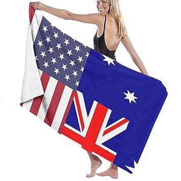 AUSTRALIAN Australia FLAG Lightweight Beach Towel
