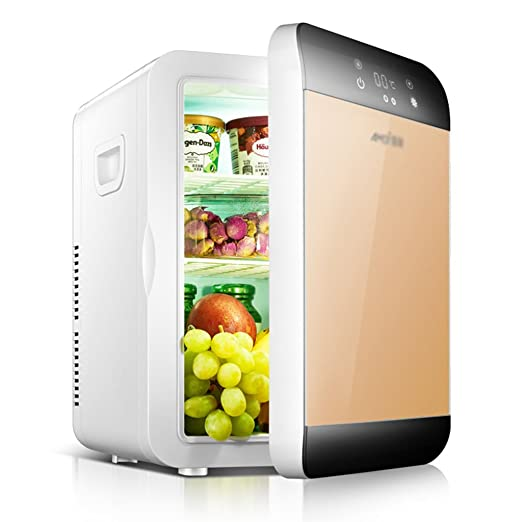 QI FANG BUSINESS Botiquines congelador, Mini refrigerador ...