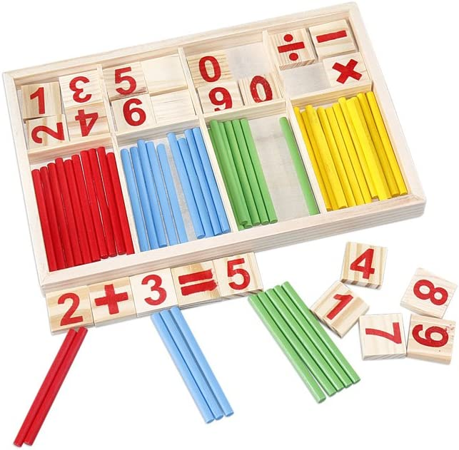 The Season Toys Math is a Game Intelligence /& Counting Sticks /& Activity Pre-...