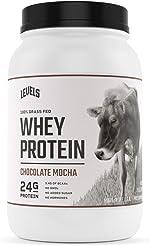 Levels Grass Fed 100% Whey Protein, No GMOs, Chocolate Mocha, 2LB
