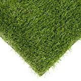 Best Choice Products Premium Realistic 4 Tone Artificial Grass Turf Indoor Outdoor Landscape W/ Drainage Holes (39″ x 28″) Review