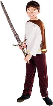 Fun Shack Marrón Vikingo Disfraz para Niños - M: Funshack ...