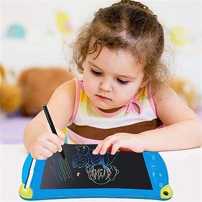 ZHAS Tablero de Dibujo electrónico, Tableta gráfica en Color de 8,5 Pulgadas, Dibujo de Graffiti, Cuaderno portátil, niños 'S: Hogar