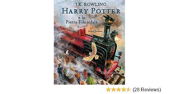 Harry Potter Camera Segreti Illustrato : Harry potter e la pietra filosofale edizione illustrata a colori