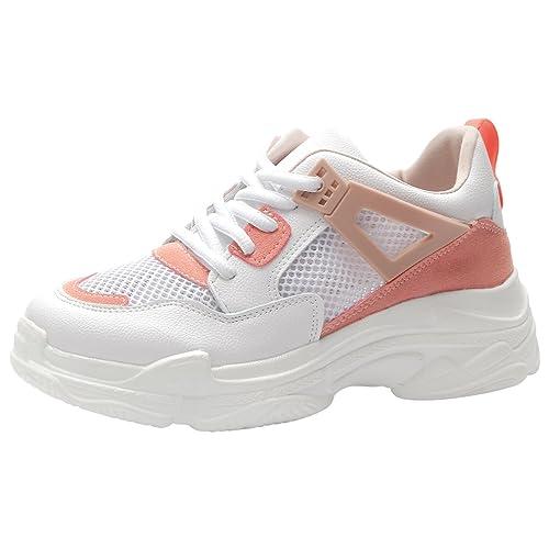 Kivors Sneaker Donna Bianco White  Amazon.it  Scarpe e borse 0b861563b47