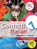 Contatti 1 Italian Beginner's Course 3rd Edition: Coursebook