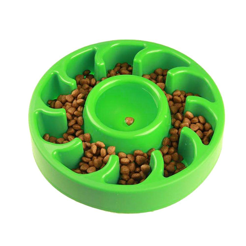 moonlux Gamelle d'alimentation Lente pour Chiens Chats(2 Pcs), eHoot Gamelle Chien Alimentation Ralentie(Qualité Alimentaire PP, Non Toxique, Antidérapant, Durable) manufacturer