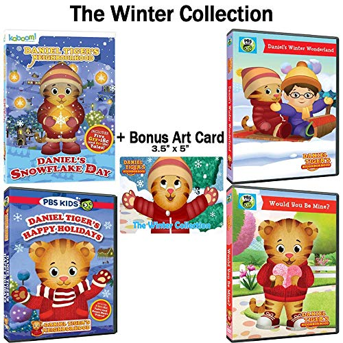 Daniel Tiger's Neighborhood: The Winter Collection - 22 Episodes + Bonus Art Card!