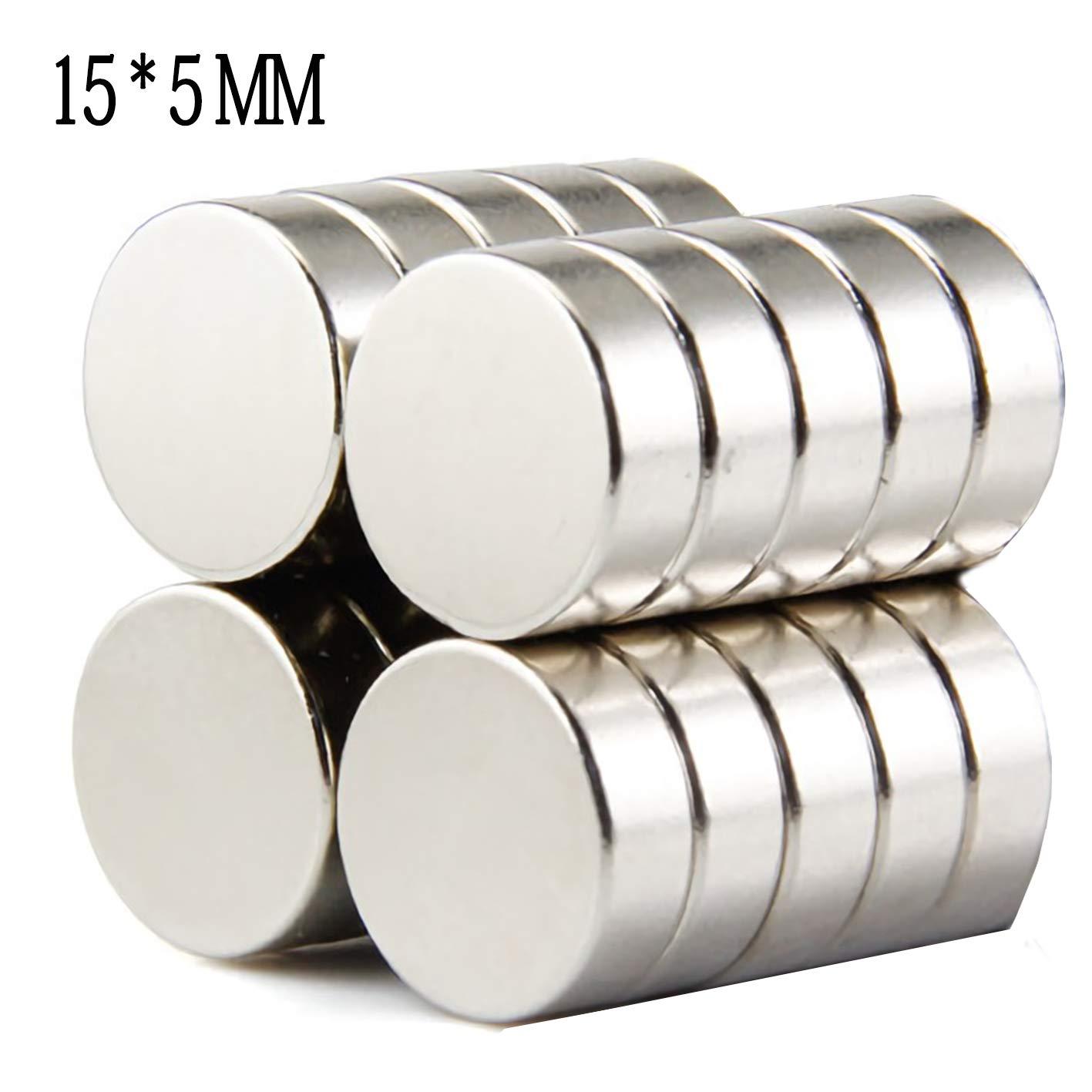 50 Stück Neodym Magnete 10x2 mm Mini Magnete Extrem Stark - Magenesis für Magnettafel, Magnetstreifen, Kühlschrank, Glas Magnetboards Kühlschrank MiCRON
