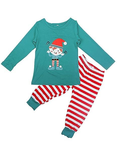 FastDirect Conjunto Pijama Niño Navidad para Familia Pijama Invierno Pijama Adulto